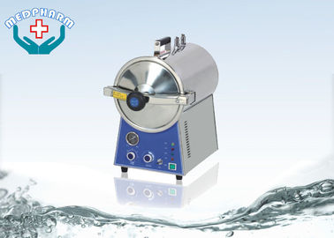 SS304 Table Top Autoclave Steam Sterilizer With Electric Heated
