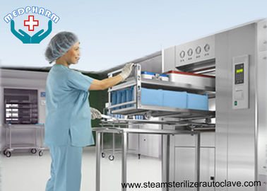 BSL3 Double Door Laboratory Autoclaves With Effluent Decontamination System